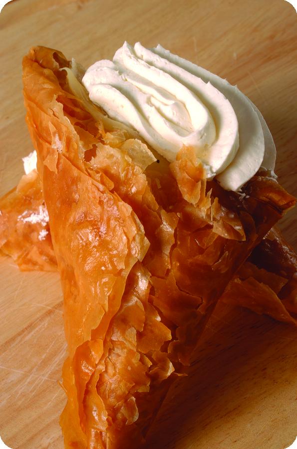 trigono with cream
