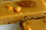 halva with roasted chick peas